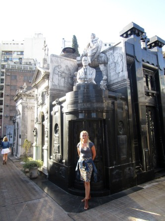 Buenos Aires, carrieslifestyle, Palermo, La Recoleta Cemetry
