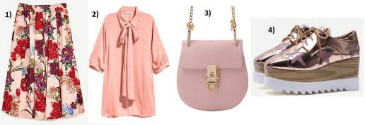 Floral-Skirt-Zara-pink-Blouse-Stella-Mccartney-Platforms