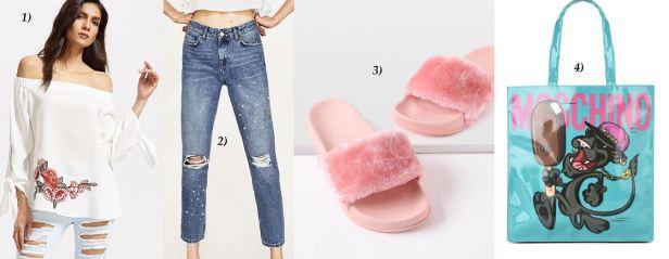 Offshoulder-Blouse-White-Pearls-Jeans-Denim-MagnumXMoschino-Moschino-Bag-Fluffy-Adiletten-carrieslifestyle-Tamara-Prutsch
