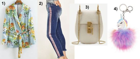 Floral-Print-Blazer-Denim-Fringes-Chloe-Drew-Bag-unicorn-carrieslifestyle-Tamara-prutsch