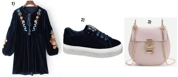 Velvetdress-Velvet-Sneakers-Deichmann-Shein-Chloe-Drew-Bag-Look-Alike-carrieslifestyle-Tamara-Prutsch