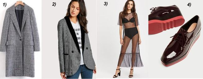 Karo-BLazer-Coat-blücher-Shoes-Mesh-dress-carrieslifestyle-Tamara-Prutsch