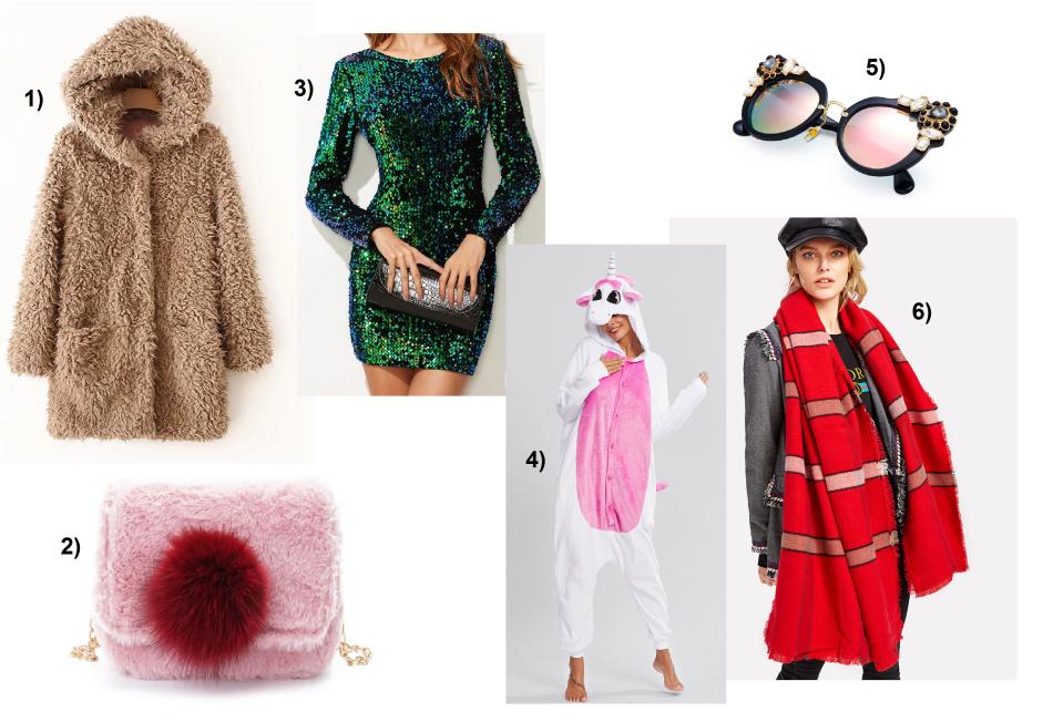 Romwe-Shein-Wishlist-Pailetten-Dress-Unicorn-Schlafanzug-carrieslifestyle-Tamara-Prutsch