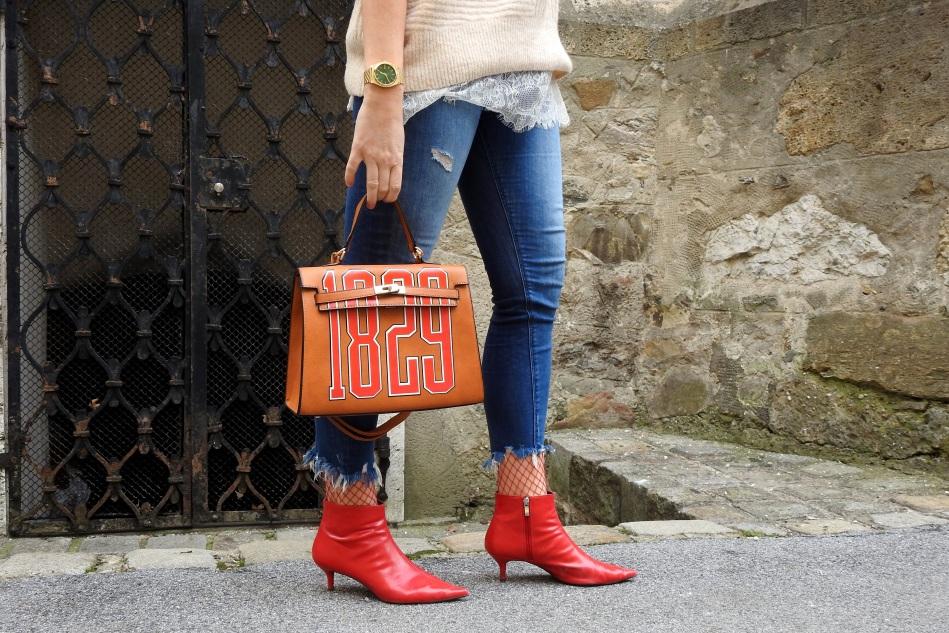 Red-Booties-Bag-Romwe-Fishnet-Stockings-Denim-Fringes-Beige-carrieslifestyle-Tamara-Prutsch-Neujahrsvorsätze