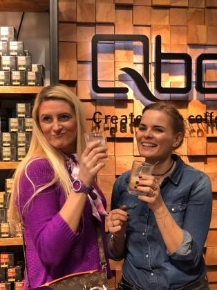Qbo-Coffee-Alexa-Amazon-Blogger-Event-carrieslifestyle-Tamara-Prutsch
